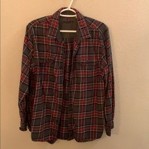 Woolrich men's style flannel shirt. Large
